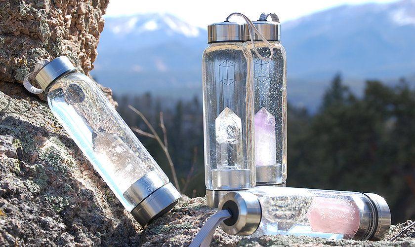 3535ca3986 glacce bottles crystal elixir   Health Nut   Reusable water bottles ...