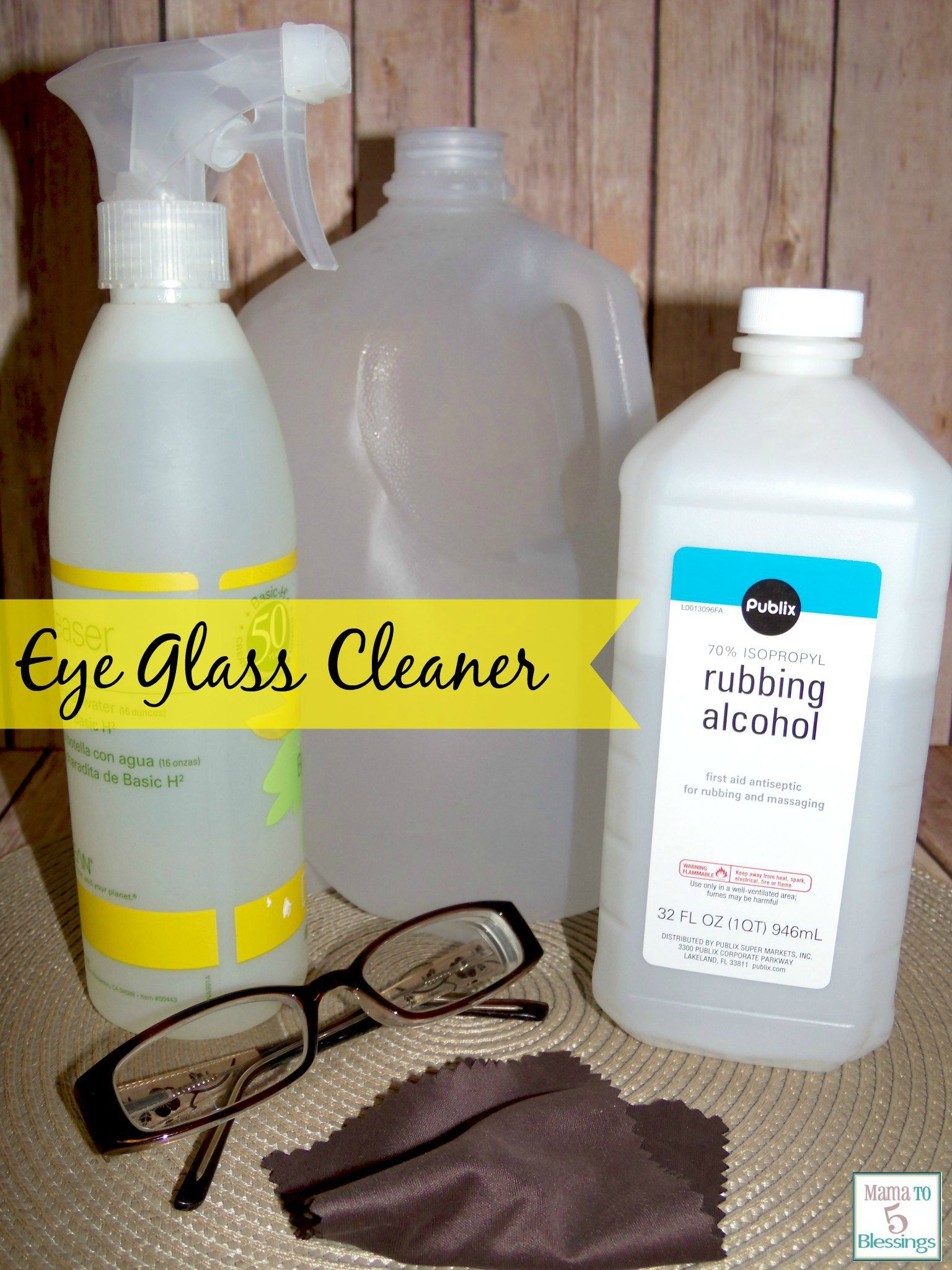 Diy Eye Glasses Cleaner Recipe Eye Glasses Cleaner Diy