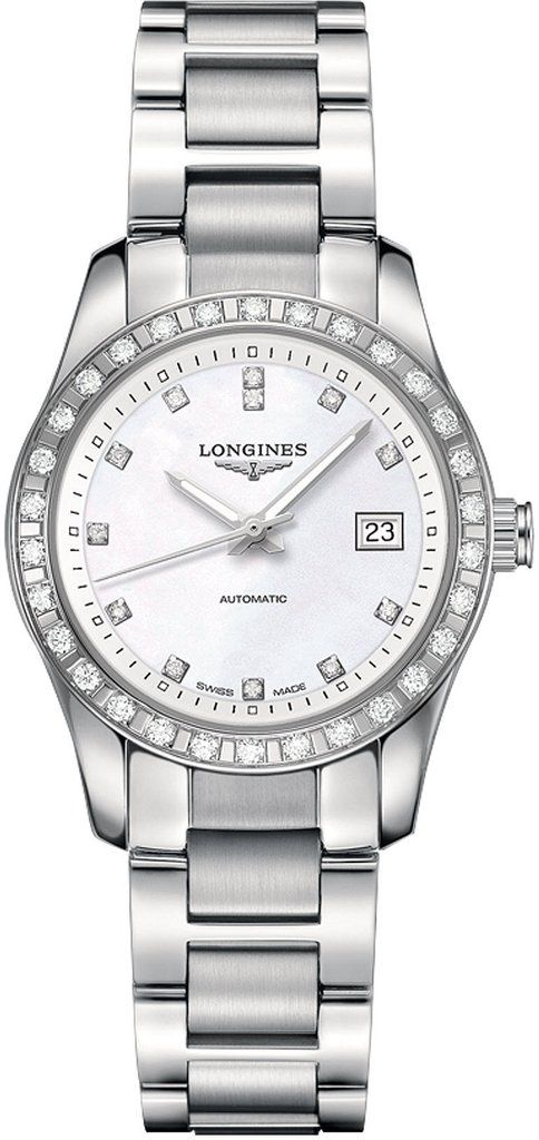 f132d0971 @longineswatches Conquest Classic #add-content #bezel-diamond #bracelet- strap-steel #brand-longines #case-material-steel #case-width-29-5mm #date-yes  ...