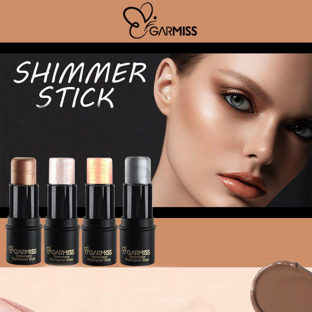 Garmiss Women Highlight Contour Stick Beauty Makeup Face Powder Cream Shimmer Concealer 4colors Available Contouring And Highlighting Face Powder Beauty Makeup