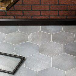 Langston Hexagon 10 Quot X 11 Quot Porcelain Field Tile Tiles