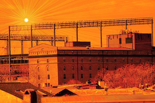 #campdenyards #orioles #baltimore paint the yards orange