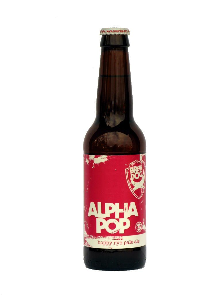 Brewdog Alpha Pop Hoppy Rye Pale Ale 7 10 Pts Pale Ale Beer Brewery Lager