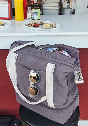 02c03acb5e7 The Catalina Deluxe Tote - Washed Canvas - Dove Grey in 2019 ...