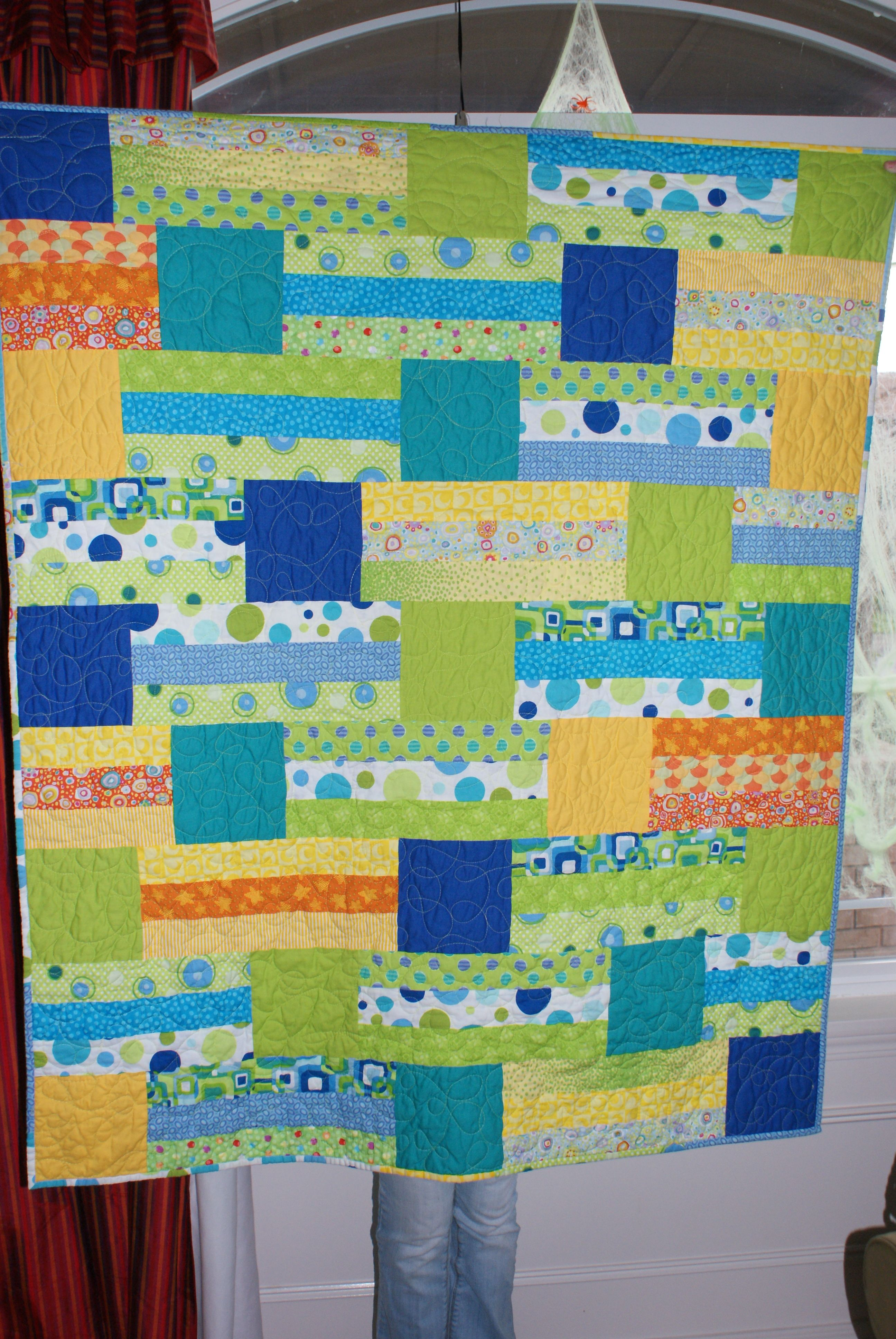 Another baby quilt | Baby Quilts | Pinterest