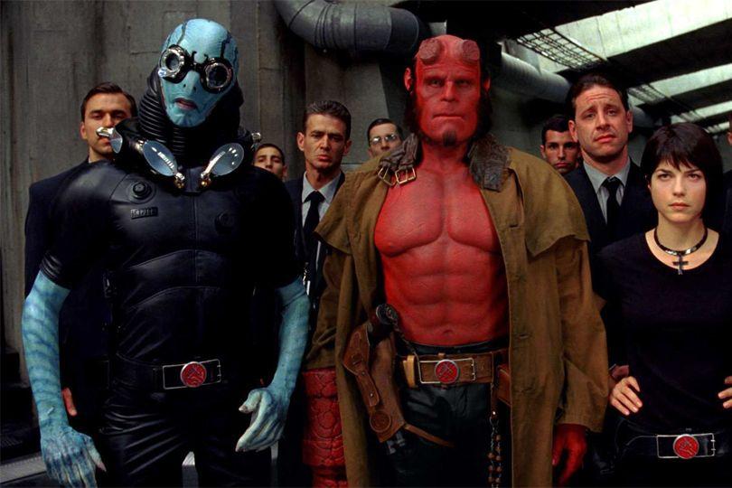 Hellboy Ii Jpg 810 540 Pixels Golden Army Hellboy Movie Hero Movie