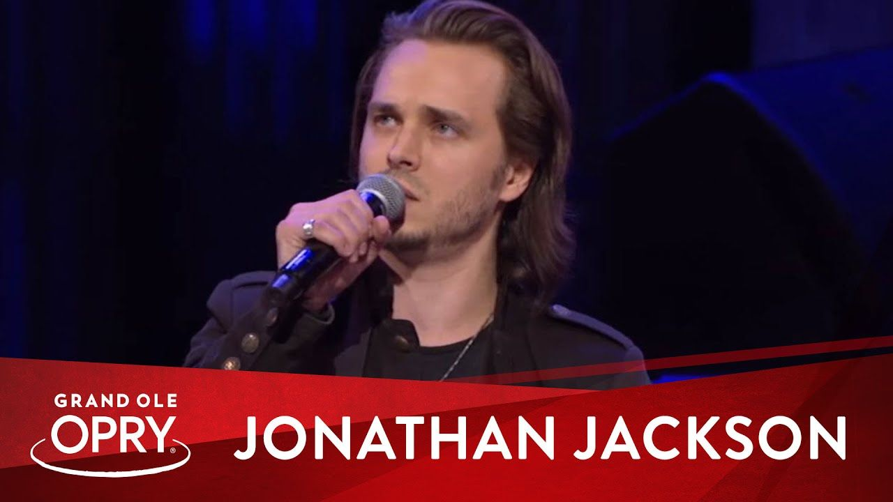 Jonathan Jackson Unchained Melody Live At The Grand Ole Opry