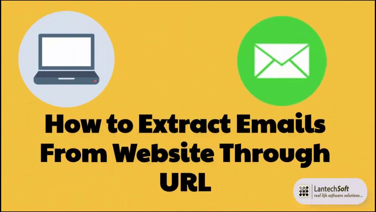 How to extract emails from website? Web email extractor Advance Web