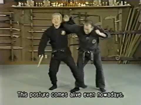 Kobudo No Kihon - Massaki Hatsumi - 44 Ninjutsu Series - YouTube