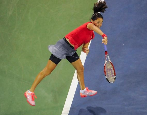 Usopen Tennis 2013 Tennis Fitness Center Exercise