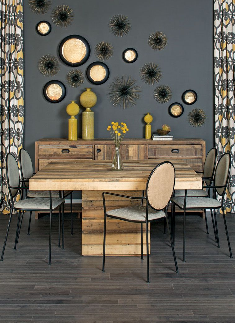Delicieux Table Manners   Tahoe Square Dining Ideas Wall Decor And Colors And Beachy  Tiles
