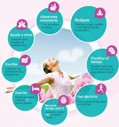 Ocho consejos para cuidar tu salud y ser feliz. ;) TIPS #
