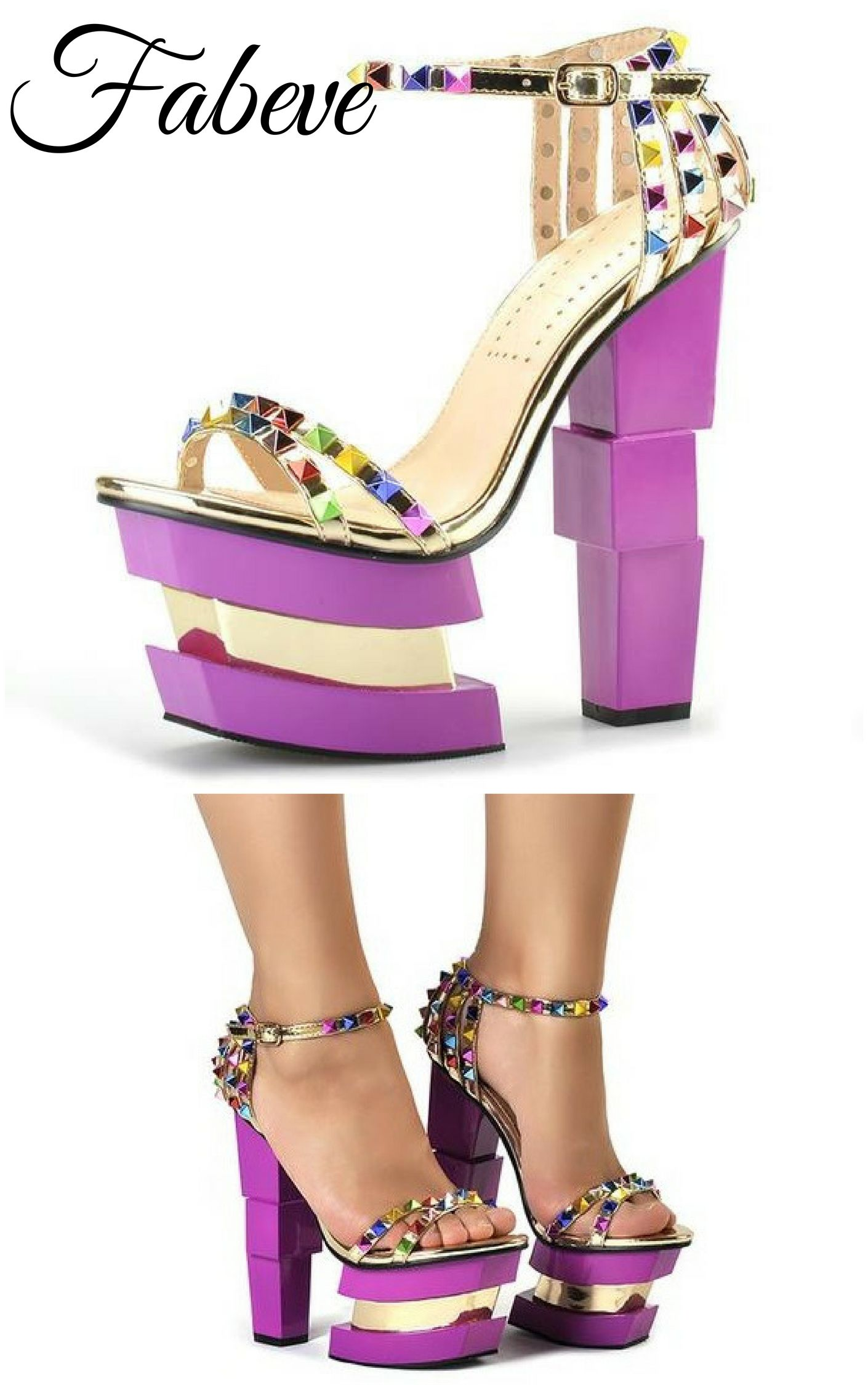 e8bbe5716cc Pink Palms Strange Style Strap | Shoes | Suede heels, Strap heels, Shoes