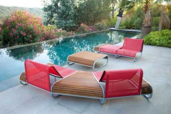 garnitur garten moderne lounge sessel designs aus holz Garten