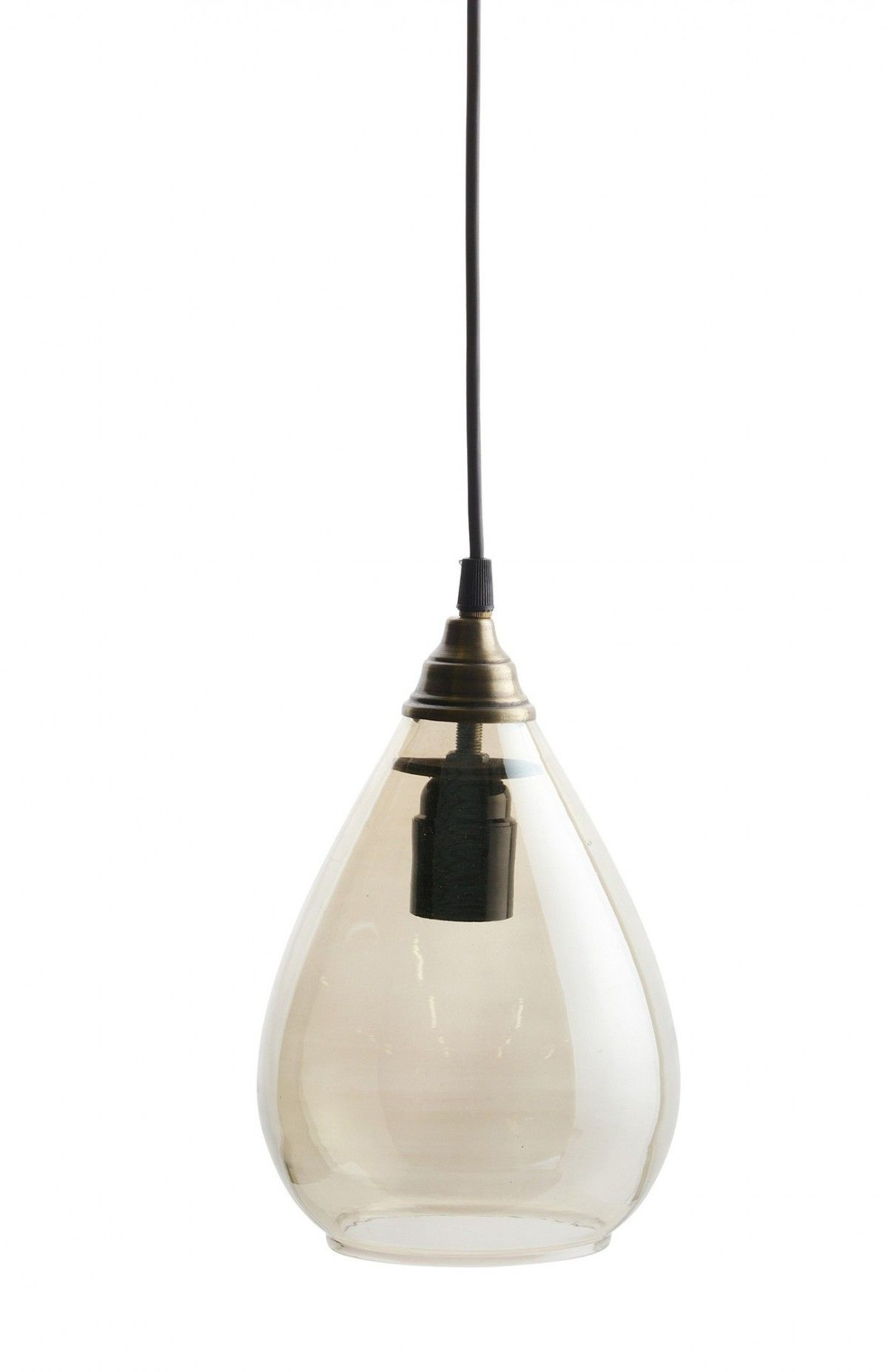 Be Pure Home Hanglamp Simple Antique Brass L Hanglamp Interieur Lampen