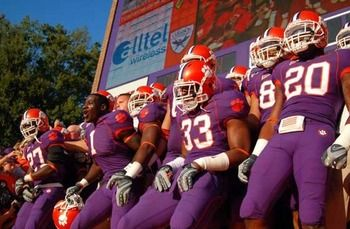 clemson purple jerseys