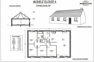 Notre Elodie 6 Maison Plain Pied Agrandissement Maison Plain Pied