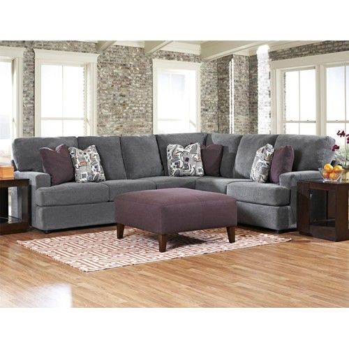 Belfort Basics Bartlet Contemporary 2 Piece Sectional Sofa