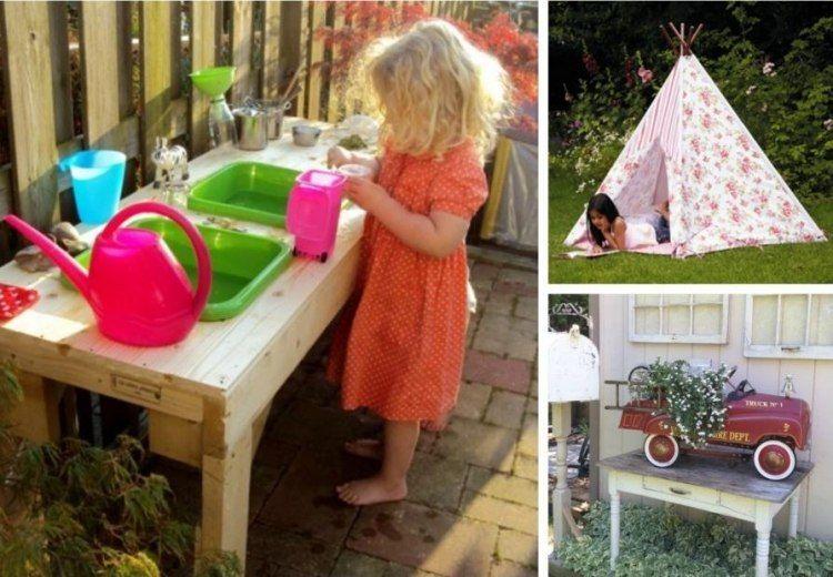 jeux d 39 enfants dans le jardin cr ez un espace adapt jardin jardins jardinage et aire de jeux. Black Bedroom Furniture Sets. Home Design Ideas