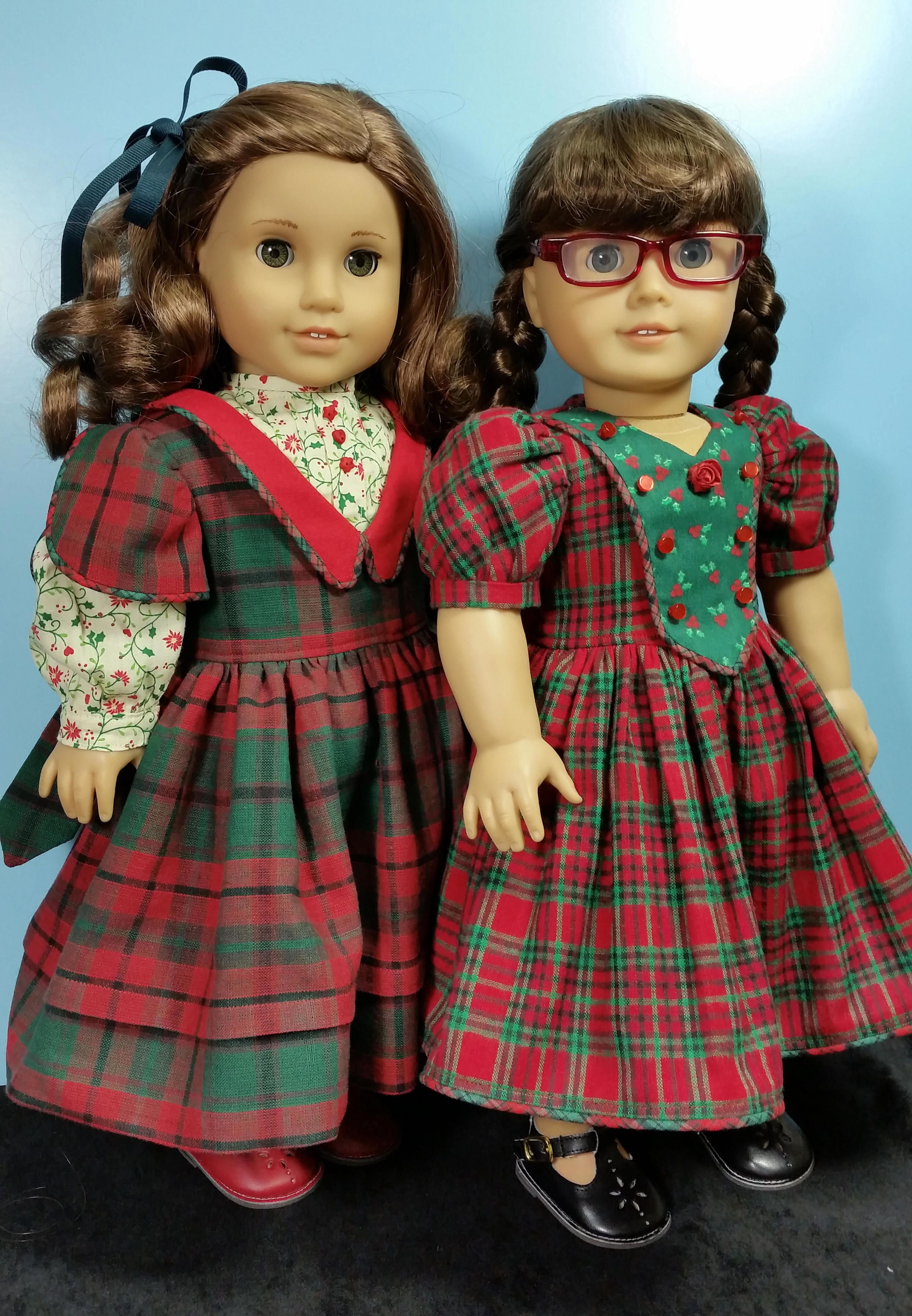 plaid christmas dresses the girls are ready for their holiday portraits sewn by shirley - Girls Plaid Christmas Dress