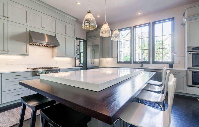 White Quartz Countertops Kitchen Design Ideas White Quartz