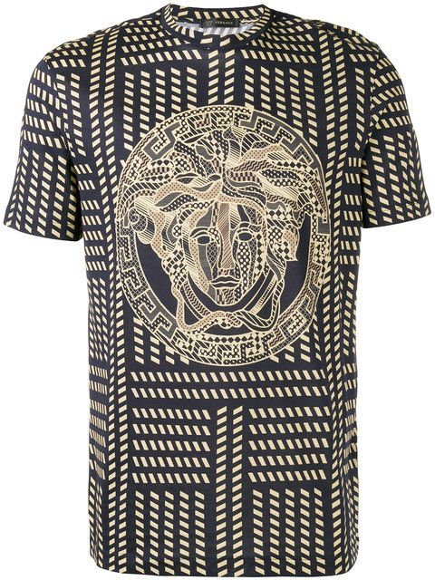 Tribal Medusa Print T-Shirt
