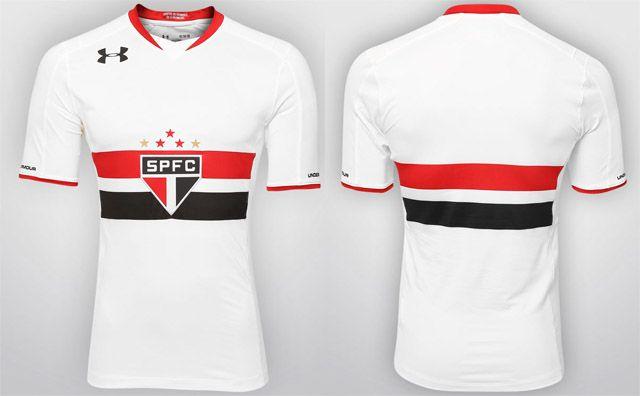 467baec9d949a Camisas do São Paulo 2015-2016 Under Armour