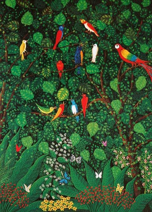 Symphony Of Amazonas By Edna De Araraquara Brazilian
