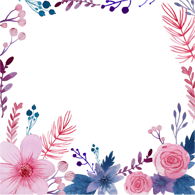 Open Full Size Watercolor Flower Png Floral Watercolor