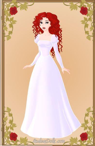 Made With Azalea Dolls Amazing Game Heroine Creator Snow White Wedding Dress