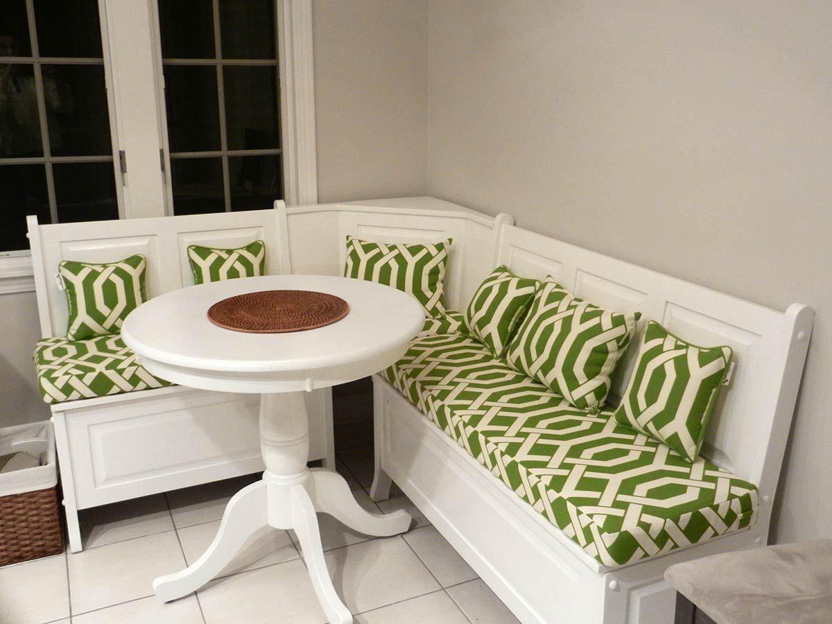 4 Beautiful Breakfast Nooks That Will Make You Love Mornings Breakfast Nook Cushions Corner Dining Nook Breakfast Nook Seating