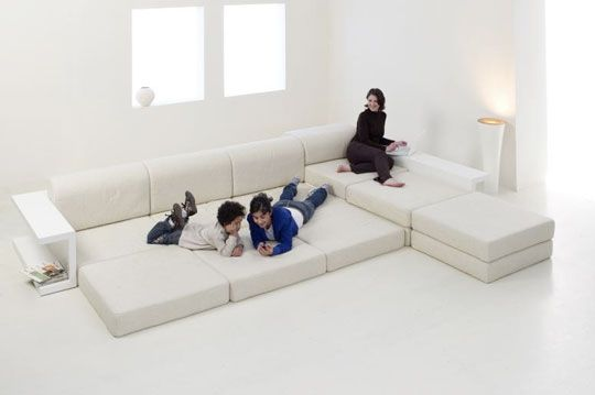 Marvelous Fab Modular Couch Would Work For The Whole Family (4 Legged Too!) Good Ideas