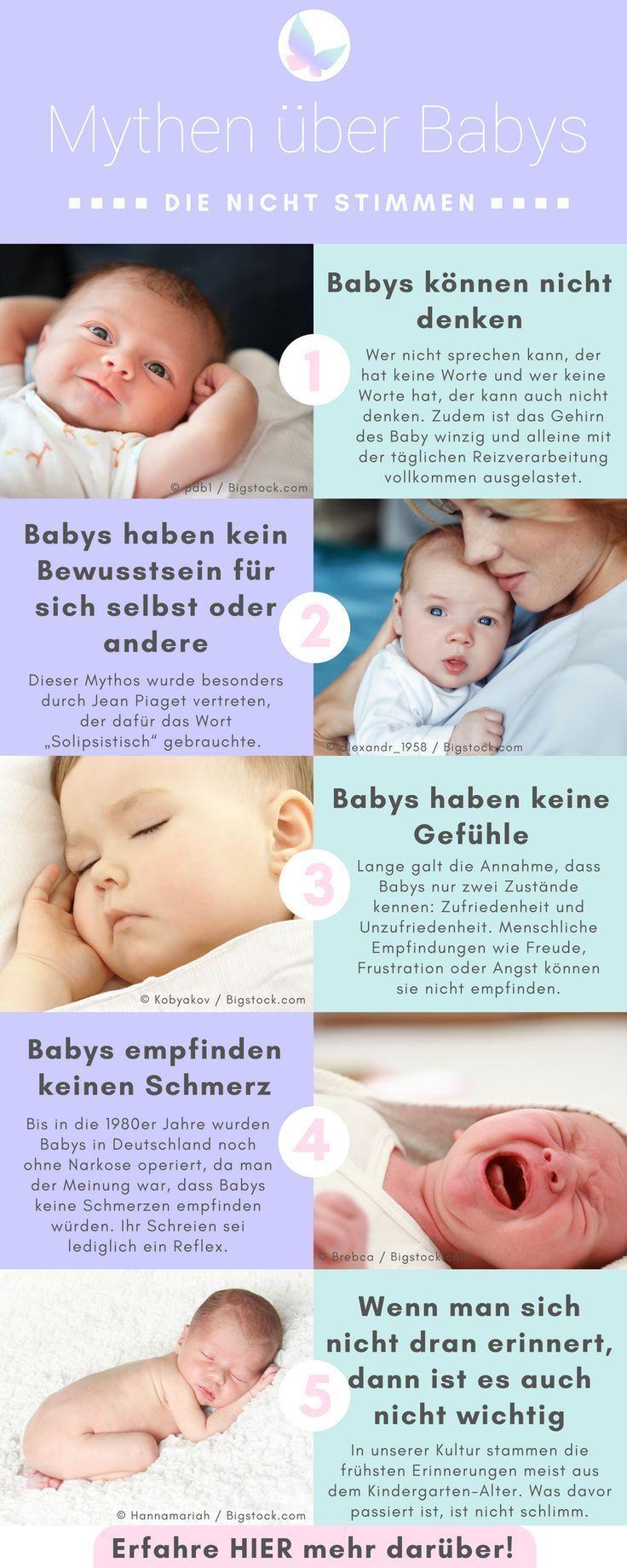 5 Mythen über Babys, die wir alle schon gehört haben und ...