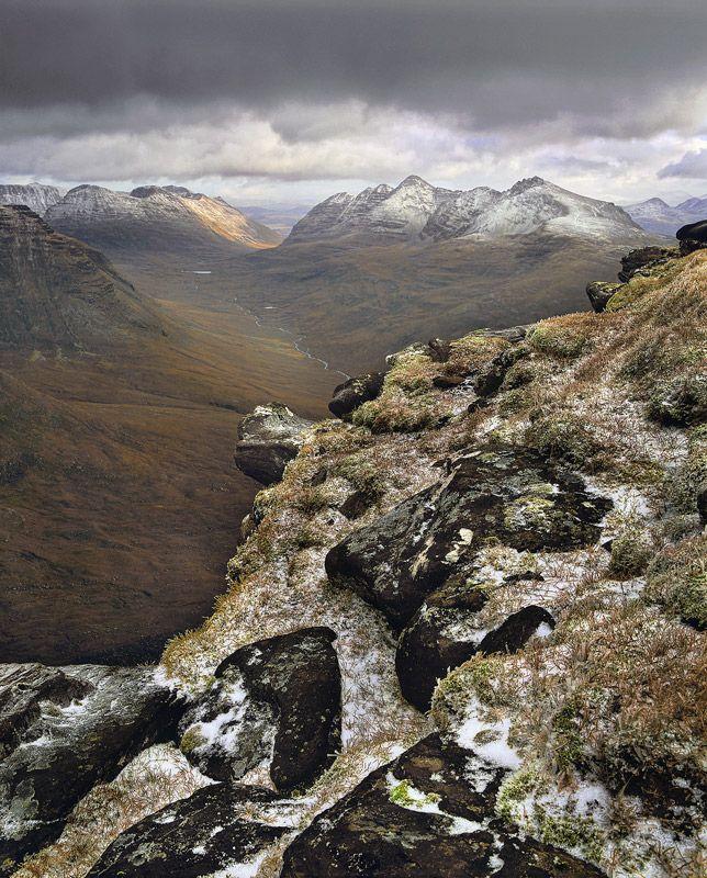 Ian Cameron  Liathach Viewpoint    Tom Na Gruigach, Torridon, Scotland.