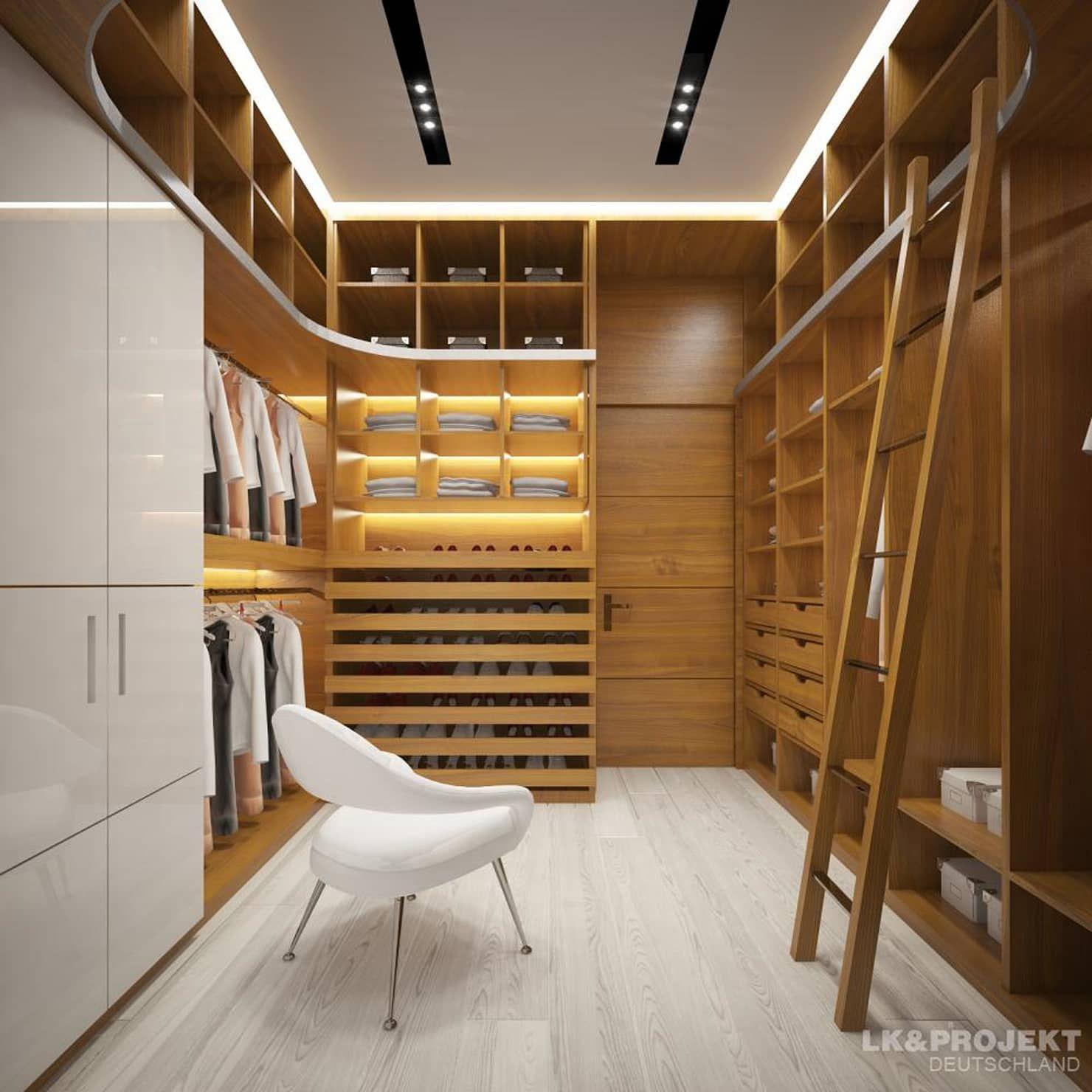 Wohnzimmer, Küche, Schlafzimmer, Bad; Garderobe, Swimmingpool, Sauna    Nicht Nur Die Aussicht Ist Fantastisch... : Moderne Ankleidezimmer Von  LKu0026Projekt ...