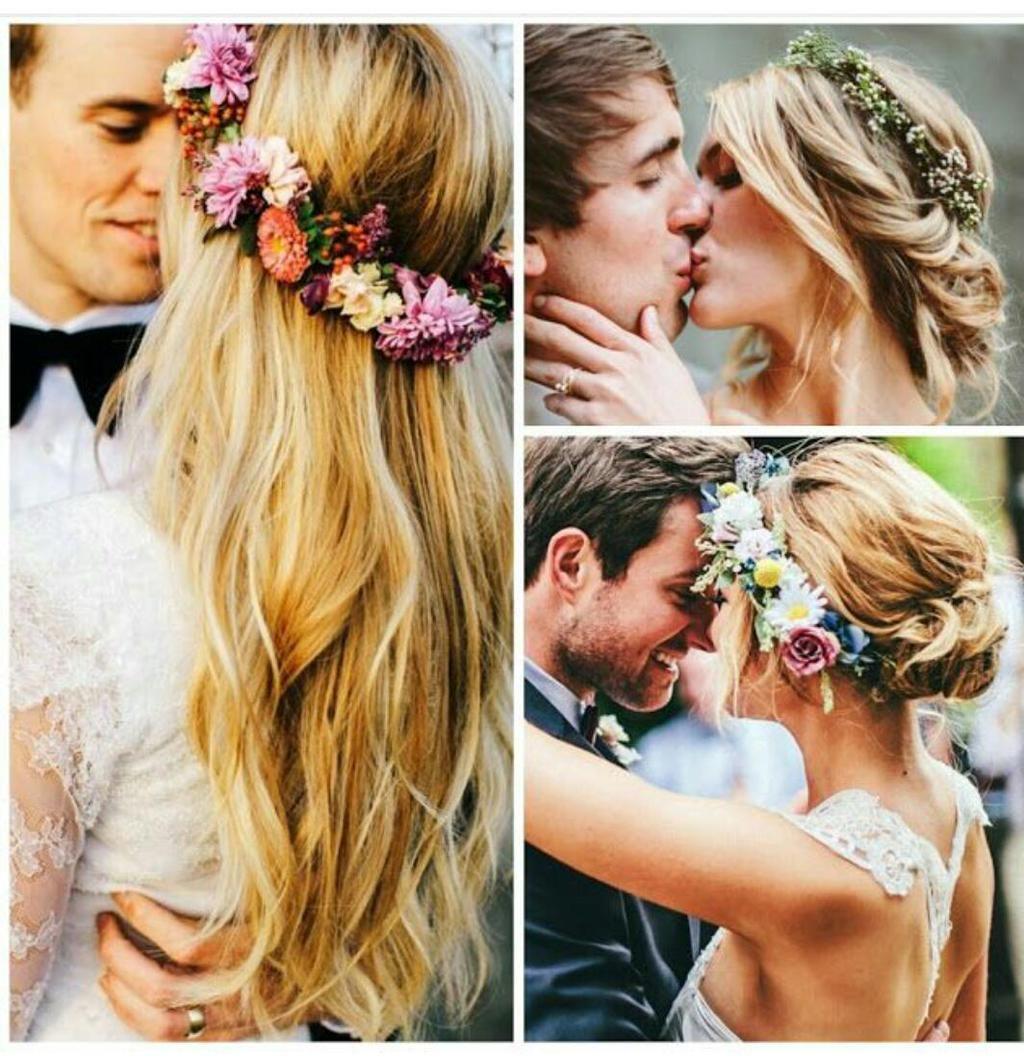 #CuteAlert: FLOWER POWER! Sí, las coronas de flores siguen siendo una buena idea