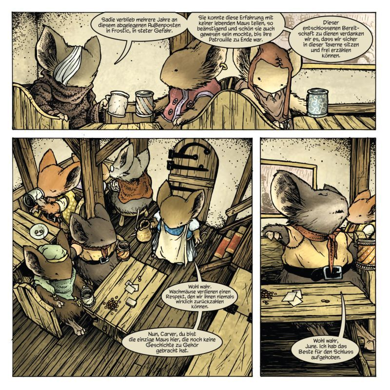mouse guard comic - Google Search   Comics   Pinterest