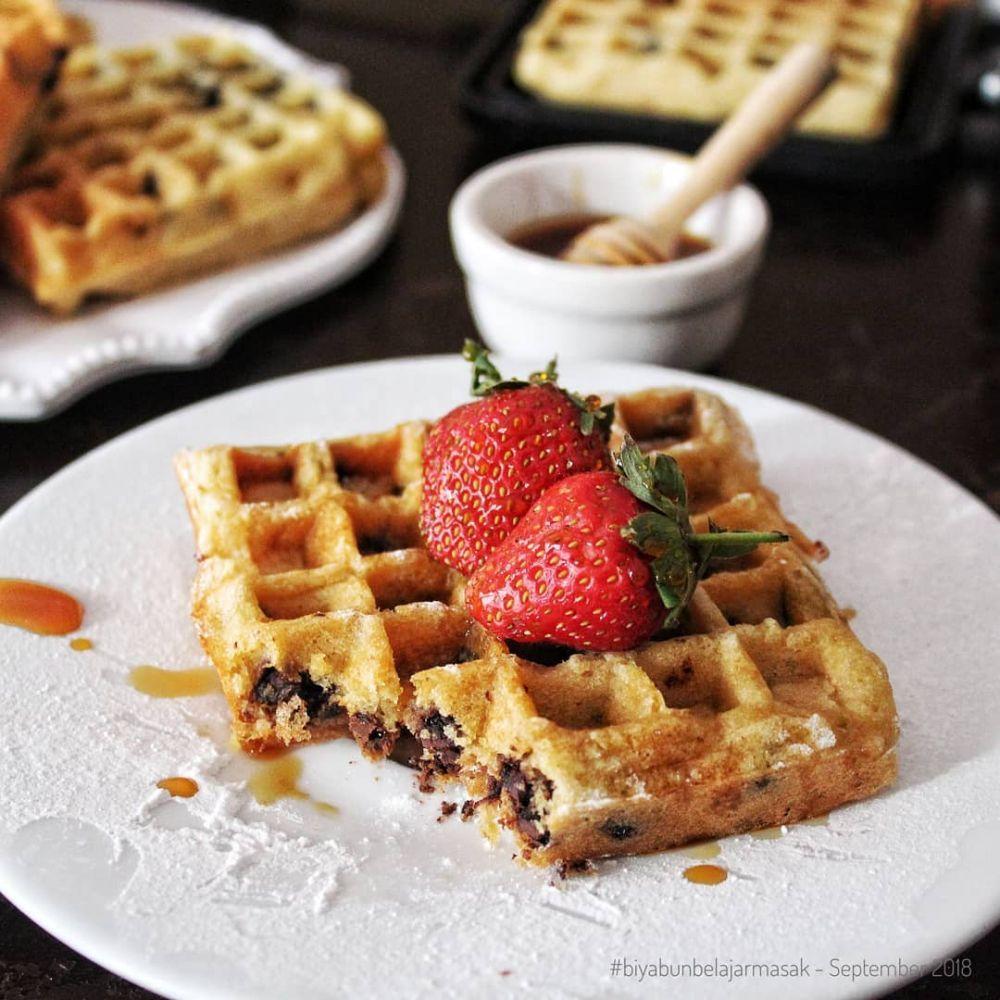 12 Resep Dan Cara Membuat Waffle Enak Dan Lembut Instagram Alfilianurprimal Kumpulanresepmasak Pudding Desserts Resep Camilan