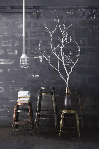 Remarkable White Twigs Black And White And Sometimes Grey Lighted Andrewgaddart Wooden Chair Designs For Living Room Andrewgaddartcom
