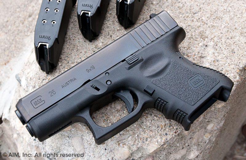 Baby Glock - Glock 26 9mm Handgun Gen 3   Guns   Hand guns, Guns