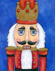 Nutcracker Christmas Canvas Christmas Paintings On Canvas Christmas Paintings