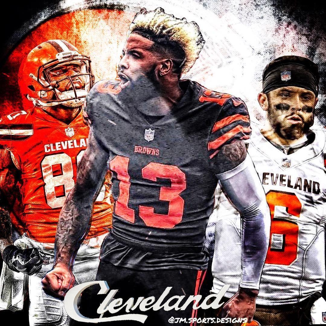 Pin By Jason Streets On Cleveland Browns Browns Football Cleveland Browns Wallpaper Beckham Jr