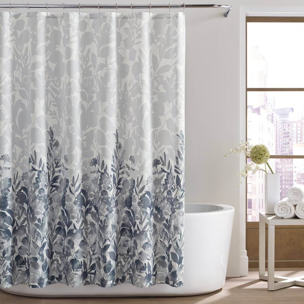 Product Image For City LoftTM Lorelei Shower Curtain In Light Grey