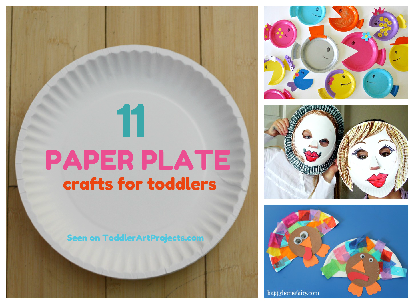 Fun Crafts to Make Paper | 11 Fun Paper Plate Crafts for Toddlers | Toddler Art  sc 1 st  Pinterest & Fun Crafts to Make Paper | 11 Fun Paper Plate Crafts for Toddlers ...