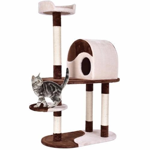 Golpus 48 Cat Tree Activity Tower Modern Cat Tree Pet Furniture Cat Tree Condo