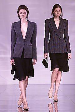 Giorgio Armani Fall 2001 Ready-to-Wear Fashion Show - Giorgio Armani
