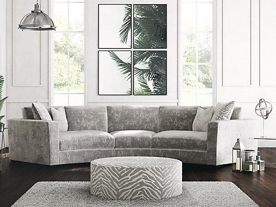 Trinity Curved Corner Sofa In 2020