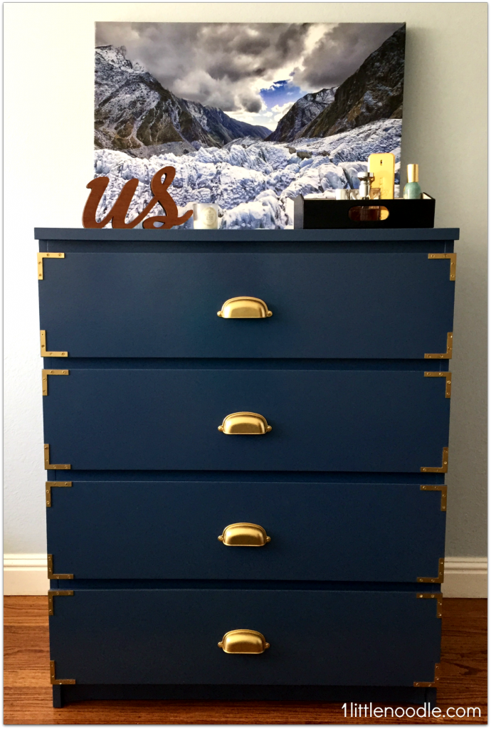 Blue Grey Campaign Dresser From Http 1littlenoodle Com