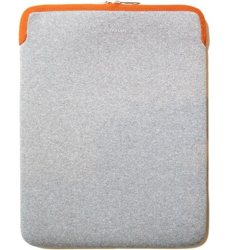 "Côte Grey and Orange Zippered Sleeve for 15"" MacBook Pro via hypebeast store"