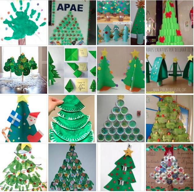 38 Ideias De árvores De Natal Pra Montar Com As Crianças Atividades Para Educação Infantil Atividades De Natal Para Crianças 242 Kids Crafts